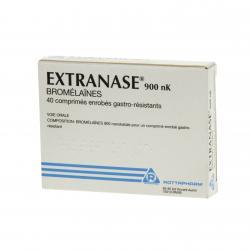 Extranase 900 nk Boîte de 40 comprimés