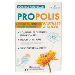Propolis Pastilles a Sucer 40 pastilles