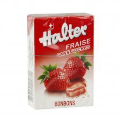 LE COMPTOIR DU PHARMACIEN Bonbon halter fraise sans sucre Boite de 40 g