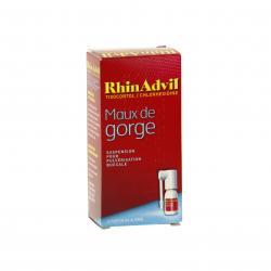 Rhinadvil maux de gorge tixocortol/chlorhexidine Flacon de 12 ml
