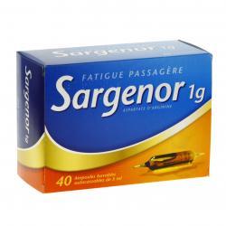 Sargenor 1 g/5 ml Boîte de 40 ampoules