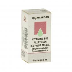 Vitamine B12 allergan Flacon de 5 ml