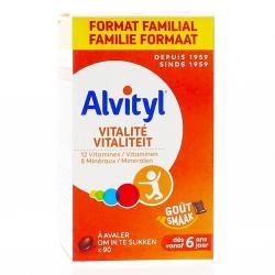 ALVITYL VITALITE A  AVALER 90 CP