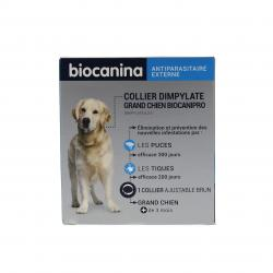Biocanipro collier insecticide pour grand chien
