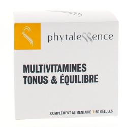 PHYTALESSENCE Multivitamines Tonus & Equilibre 60 gélules
