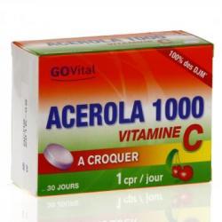 ALVITYL ACEROLA1000 CPR CROQ30