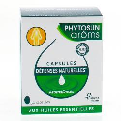 Aromadoses defenses naturelles 30 capsules