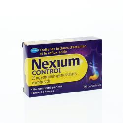 Nexium control Boîte de 14 comprimés