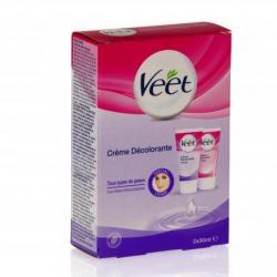 VEET Crème décolorante visage tubes 2 x 30ml