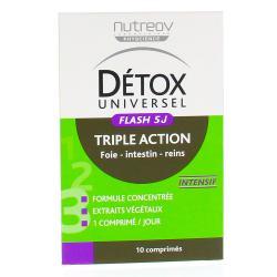NUTREOV Détox universel flash boîte de 10 comprimés 2 x 5 jours