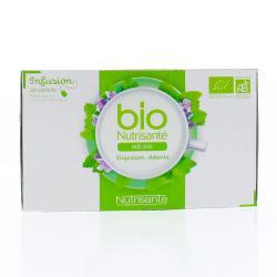 Bio infusion mélisse boîte de 20 sachets