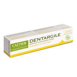 Dentargile citron dentifrice gencives renforcées bio 100g Tube 75g