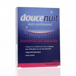 Bandelettes nasale anti-ronflements Boîte de 20 bandelettes