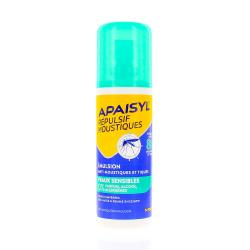 APAISYL émulsion anti-moustiques peaux sensibles dès 12 mois flacon 90ml