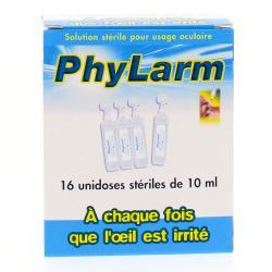 Phylarm Solution stérile - 16 unidoses stériles de 10 ml
