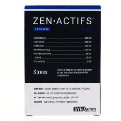 SYNACTIFS ZENActifs stress Boîte de 30 gélules