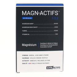 SYNACTIFS MAGNActifs magnésium Boîte de 60 gélules