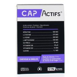 SYNACTIFS CAPActifs cheveux Boîte de 120 gélules