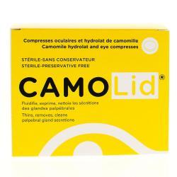 HORUS PHARMA CamoLid compresses ophtalmiques Boîte de 15 unidoses