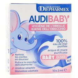 Audibaby Hygiène de l'oreille - 10 unidoses x 2 ml