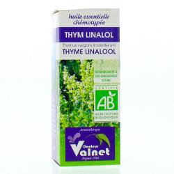 Huile essentielle thym à linalol bio flacon 5ml