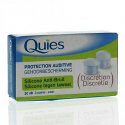 Protection Auditive Silicone Anti-Bruit Discrétion 3 paires