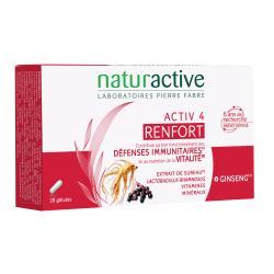 Activ 4 Renfort - 28 Gélules