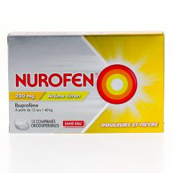 NUROFEN 200MG CPR ORODISP 12