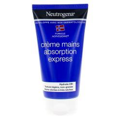 Crème mains hydratation et confort absorption rapide 75ml