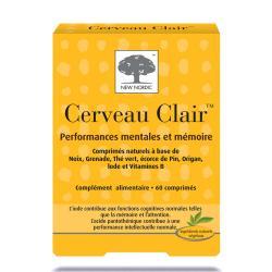 CERVEAU CLAIR Cpr mémoire concentrat B/60