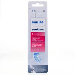 Tete de brosse a dents sensitiv standard ultra soft x2