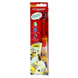 Brosse a dents electrique parlante a piles enfants extra souple motif minions