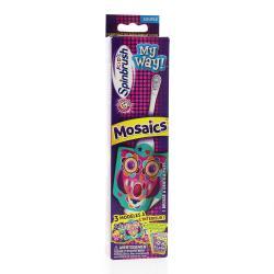 Spinbrush brosse a dents enfants electriques a piles
