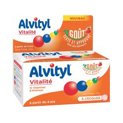 ALVITYL VITALITE A CROQUER 30 CP