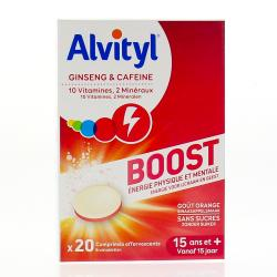 ALVITYL BOOST EFFERVESCENT 20 CP