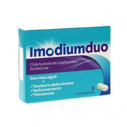 Imodium duo Boîte de 8 comprimés