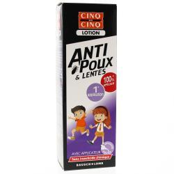 CINQ SUR CINQ Lotion anti-poux et lentes Tube 100ml