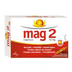 MAG 2 S/SUC BUV AMP10ML 30