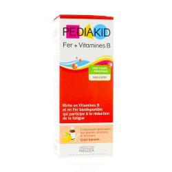 Fer + Vitamines B Complément pour enfant - 125 ml