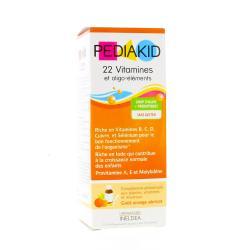 22 vitamines & oligo-elements sirop orange abricot 125ml