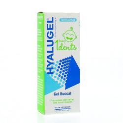 Hyalugel 1eres dents gel buccal poussees dentaires 20ml