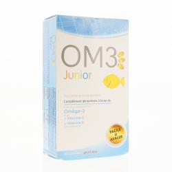 OM3 Junior 60 capsules à macher