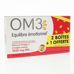 OM3 Classique Equilibre Emotionnel PROMO Lot de 3 Boites 180 capsules