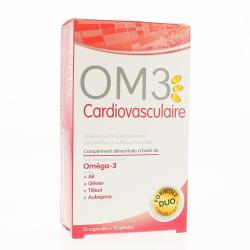 OM3 CARDIOVASCULAIRE 15CAPS