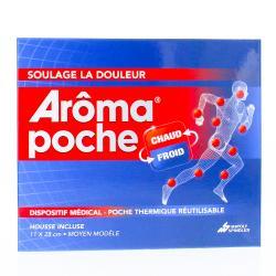 Arôma Poche Thermique Chaud Froid 11x27cm + Housse