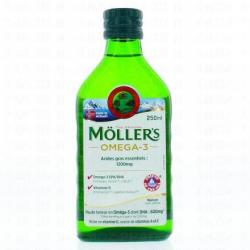 MOLLERS Hle foie de morue S buv Fl/250ml