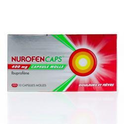 NUROFENCAPS 400MG CAPS 10