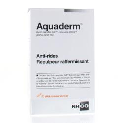 Aquaderm Anti-rides et repulpeur raffermissant - 20 sticks saveur abricot
