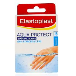 Pansements Aqua Protect Spécial Mains x16