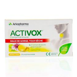 ACTIVOX CITRON CPR SUCER 24
